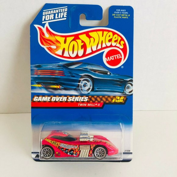 Hot Wheels Mattel Game Over Series Cars Pink Final